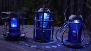 Solar Lighting For Gardens by Sensational Recycled Solar Lights In The Garden Flea Market