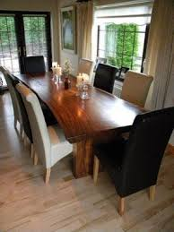 Dining Table  Seater Foter - Black dining table for 10