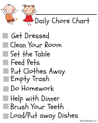 Gallery For Gt Set The Table Chore by 10 Best Images Of Chore Chart Ideas By Age Age Appropriate