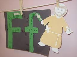 alphabet of saints crafts for catholic kids
