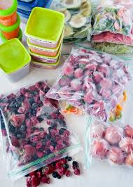freezing fruits and vegetables for smoothies a complete guide