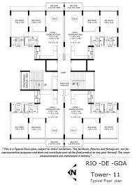 layout plan tata goa paradise