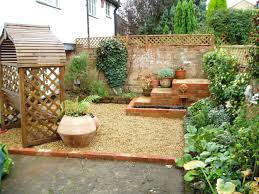 Garden Ideas For Small Spaces Lawn Garden Simple Small Garden Design Ideas Brick