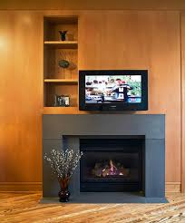 contemporary fireplace designs with tv above surripui net