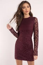 bodycon dress burgundy dress sleeve dress royal burgundy dress