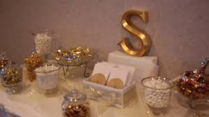 gold candy table youtube