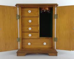 Jewelry Storage Cabinet Jewelry Storage Etsy