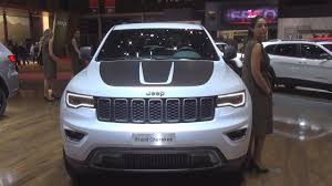 jeep cherokee sport interior 2017 jeep grand cherokee trailhawk 4x4 2017 exterior and interior in