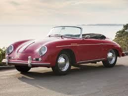 pink convertible porsche porsche 356 a 1600 convertible d by drauz porsche 356