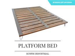 Platform Bed Pallet Bed Room U2013 Second Chance Pallet