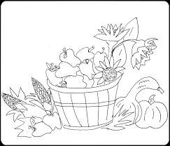 box fall clipart and borders 263029 fall harvest coloring pages