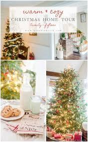 warm u0026 cozy rustic farmhouse christmas home tour 2015