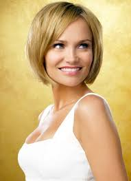 awesome bob haircuts smooth short bob hairstyle with side swept bangs kristin