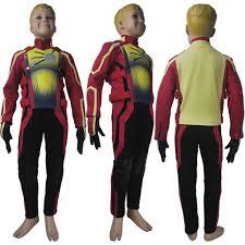 kids children the flash season 4 barry allen flash cosplay costume