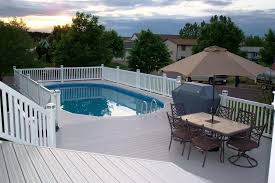 plans in how to build above ground pool decks