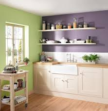 Green Kitchen Designs by 10 Beautiful Kitchens With Purple Walls Belfast Sink Plum