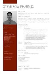 Example Pharmacist Resume by Pharmacien Exemple De Cv Base De Données Des Cv De Visualcv