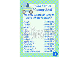 who knows best baby shower boy baby shower who knows best printable baby boy