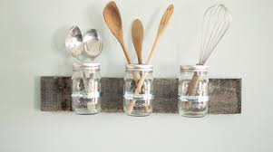 Clear Plastic Kitchen Canisters Mason Jar Kitchen Decorating Ideas Mason Jar Ideas
