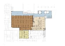 Tertiary Hospital Floor Plan by Maricopa Integrated Health Systems Emergency Department Expansion