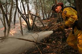 California Wildfire Ranking by Catastrophic Event Deadly California Fires Explode Again