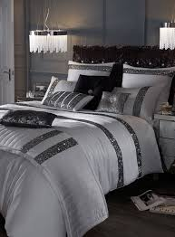 kylie minogue safia silver sequin bedding range bhs bedroom