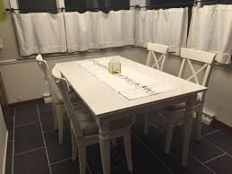 Kitchen Tables Ikea by New Kitchen Table And Chairs From Ikea Ingatorp Table Ingolf