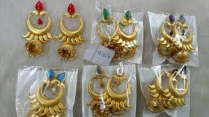 earrings hong kong golden matte finish indo western earrings hong kong world delhi