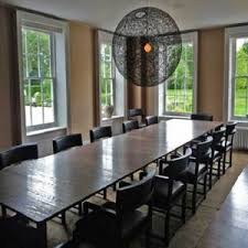 dazzling extra long dining table all dining room