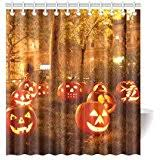 amazon com halloween shower curtains shower curtains hooks