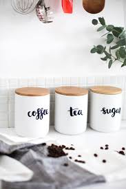 Purple Canister Set Kitchen by Best 25 Tea Coffee Sugar Jars Ideas Only On Pinterest Tea And