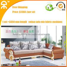 Sleeper Sofa Manufacturers Modern Corner Living Room Upholstery Brown Mutifuctional Rattan