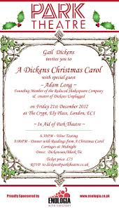Christmas Carols Invitation Cards Holiday Season Is Coming Blog Park Theatre