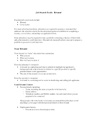 What To Say In A Resume Good Hobbies To Put On Resume Samples Of Resumes A Rsum Is A Cv