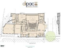 National Theatre Floor Plan by 217 000 For 2017 Daniel Island Performing Arts Center The