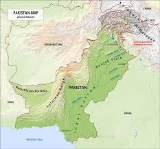 world map pakistan karachi pakistan physical map