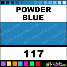 powder blue designer gouache paints 117 powder blue paint