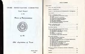 organized crime organized crime and texas u0027 crime investigating committee in the