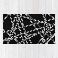 Black And White Throw Rugs Ab Lines Zoom Black And Silver Rug Throw Rugs