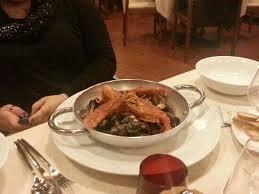 dico cuisine mezza e dico mezza padella di crostacei picture of locanda colla