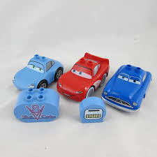 cars sally and lightning mcqueen lego duplo disney pixar cars lightning mcqueen doc hudson sally