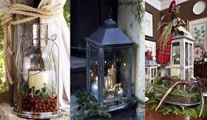 Christmas Decor With Lanterns