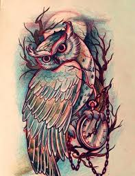 tattoo pictures of owls owl tattoo drawing at getdrawings com free for personal use owl