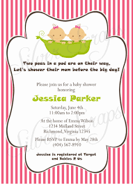 baby shower invites free templates tips easy to create twins baby shower invitations free templates
