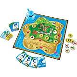 amazon com peaceable kingdom alphabet bingo letter learning game