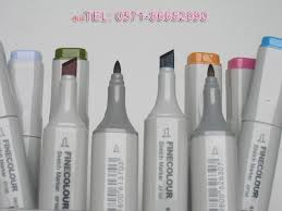free shipping 112 colors finecolour sketch marker set u0026 2 gift