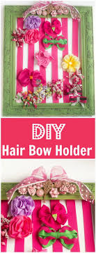 diy baby hair bows diy hair bow holder tutorial dinner at the zoo