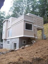 house made from cargo shipping containers on home container design