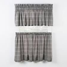 24 Inch Kitchen Curtains Buy Black Kitchen Curtains From Bed Bath U0026 Beyond