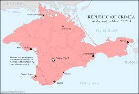 maps crimea russia crimea joins russia gives up independence becomes disputed